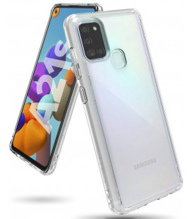 """Skaidrus dėklas Samsung Galaxy A21S telefonui """"Ringke Fusion"""""""