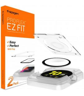 "Ekrano apsauga Samsung Galaxy Watch Active 2 (44mm) laikrodžiui ""Spigen Proflex EZ Fit"""
