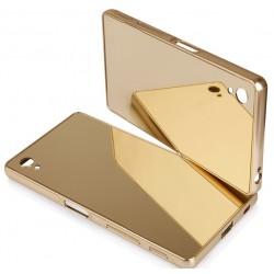 """Sidabrinės spalvos silikoninis dėklas Samsung Galaxy S6 Edge telefonui """"Mirror"""""""