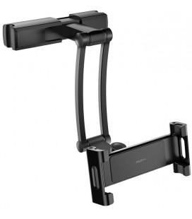"""Juodas automobilinis planšetinio kompiuterio laikiklis tvirtinamas prie sėdynės """"Rock Stretchable"""""""