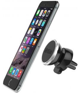 """Juodas magnetinis automobilinis telefono laikiklis tvirtinamas į groteles """"iOttie iTap"""""""