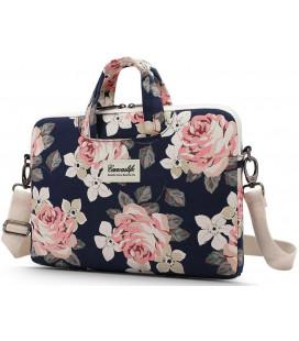 """Universalus krepšys nešiojamiems kompiuteriams 13-14"""" """"Canvaslife Briefcase Navy Rose"""""""