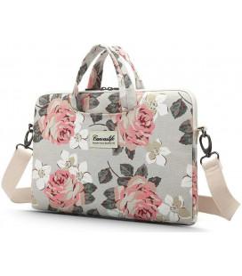 """Universalus krepšys nešiojamiems kompiuteriams 15-16"""" """"Canvaslife Briefcase White Rose"""""""