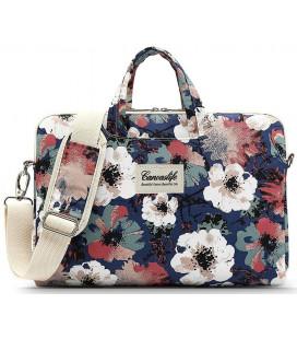 "Krepšys Macbook Air/Pro 13 kompiuteriui ""Canvaslife Briefcase Blue Camellia"""