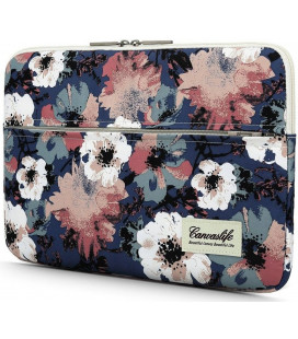 "Krepšys Macbook Air/Pro 13 kompiuteriui ""Canvaslife Sleeve Blue Camellia"""