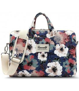 """Krepšys Macbook Pro 15 kompiuteriui """"Canvaslife Briefcase Blue Camellia"""""""