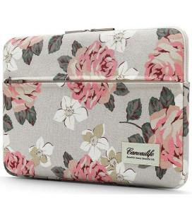 """Universalus krepšys nešiojamiems kompiuteriams 15-16"""" """"Canvaslife Sleeve White Rose"""""""