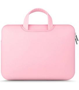 """Rožinis nešiojamo kompiuterio dėklas 14"""" """"Tech-Protect Airbag"""""""