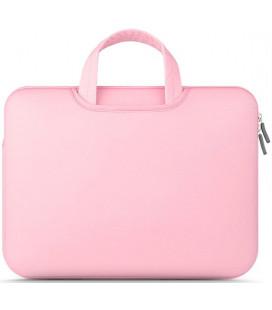 """Rožinis nešiojamo kompiuterio dėklas 13"""" """"Tech-Protect Airbag"""""""