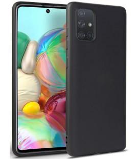 """Juodas dėklas Samsung Galaxy A31 telefonui """"Tech-protect Icon"""""""