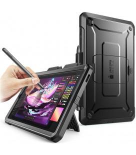"""Juodas dėklas Samsing Galaxy TAB S6 Lite 10.4 P610/P615 planšetei """"Supcase Unicorn Beetle Pro"""""""