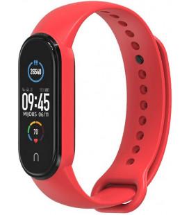 """Raudona apyrankė Xiaomi Mi Smart Band 5 laikrodžiui """"Tech-Protect Iconband"""""""
