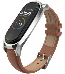 """Ruda apyrankė Xiaomi Mi Smart Band 5 laikrodžiui """"Tech-Protect Herms"""""""