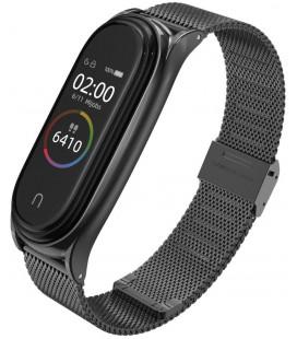 """Juoda apyrankė Xiaomi Mi Smart Band 5 laikrodžiui """"Tech-Protect Milaneseband"""""""