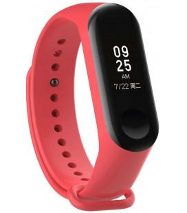 """Raudona apyrankė Xiaomi Mi Band 3/4 laikrodžiui """"Tech-Protect Smooth"""""""