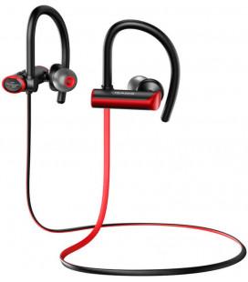 """Juodos/raudonos belaidės ausinės """"USAMS S4 Sport Stereo Bluetooth Headset"""""""