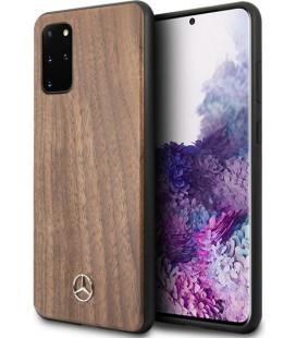 """Rudas dėklas Samsung Galaxy S20 Plus telefonui """"MEHCS67VWOLB Mercedes Wood Cover"""""""