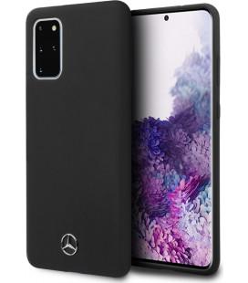 "Juodas dėklas Samsung Galaxy S20 Plus telefonui ""MEHCS67SILSB Mercedes Silicone Cover"""