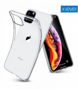 """Skaidrus dėklas Samsung Galaxy Xcover Pro telefonui """"X-Level Antislip"""""""