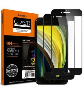 "Apsauginiai grūdinti stiklai Apple iPhone 7/8SE 2020 telefonui ""Spigen Glas.TR Slim"""