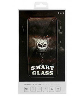 """Juodas apsauginis grūdintas stiklas Huawei Y6P telefonui """"Smart Glass"""""""
