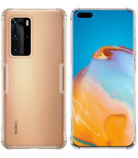 """Skaidrus/pilkas dėklas Huawei P40 Pro telefonui """"Nillkin Nature"""""""