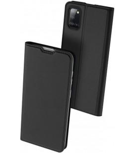 """Juodas atverčiamas dėklas Samsung Galaxy A31 telefonui """"Dux Ducis Skin Pro"""""""