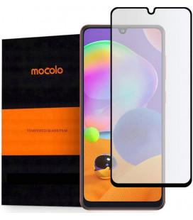 """Juodas apsauginis grūdintas stiklas Samsung Galaxy A31 telefonui """"Mocolo TG Full Glue"""""""