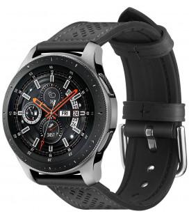 "Juoda apyrankė Samsung Galaxy Watch 46mm laikrodžiui ""Spigen Retro Fit Band"""