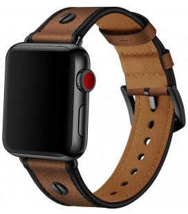 """Ruda apyrankė Apple Watch 1/2/3/4/5 (42/44mm) laikrodžiui """"Tech-Protect Screwband"""""""