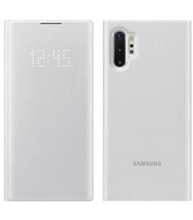 """Originalus baltas atverčiamas dėklas """"LED Flipcover Pro"""" Samsung Galaxy Note 10 Plus telefonui """"EF-NN975PWE"""""""