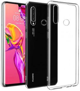 """Originalus skaidrus dėklas Huawei P30 Lite telefonui """"TPU Protective Cover"""""""