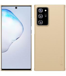 """Auksinės spalvos dėklas Samsung Galaxy Note 20 Ultra telefonui """"Nillkin Frosted Shield"""""""