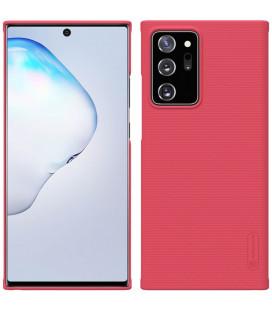 "Raudonas dėklas Samsung Galaxy Note 20 Ultra telefonui ""Nillkin Frosted Shield"""