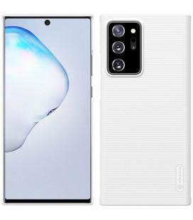 "Baltas dėklas Samsung Galaxy Note 20 Ultra telefonui ""Nillkin Frosted Shield"""