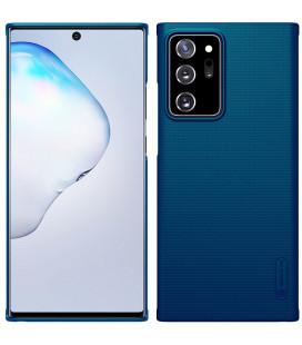 "Mėlynas dėklas Samsung Galaxy Note 20 Ultra telefonui ""Nillkin Frosted Shield"""