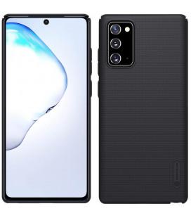 "Juodas dėklas Samsung Galaxy Note 20 telefonui ""Nillkin Frosted Shield"""