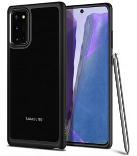 "Juodas dėklas Samsung Galaxy Note 20 telefonui ""Spigen Ultra Hybrid"""