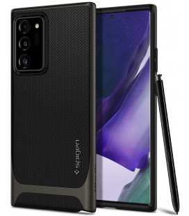 "Pilkas dėklas Samsung Galaxy Note 20 Ultra telefonui ""Spigen Neo Hybrid"""