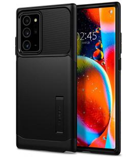 "Juodas dėklas Samsung Galaxy Note 20 Ultra telefonui ""Spigen Slim Armor"""
