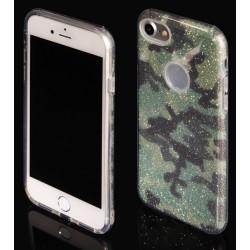 """Žalias silikoninis blizgantis dėklas Apple iPhone 7 telefonui """"Blink Moro"""""""