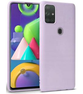 """Violetinis dėklas Samsung Galaxy M21 telefonui """"Tech-protect Icon"""""""