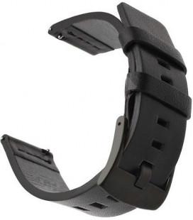 "Juoda apyrankė Huawei Watch GT laikrodžiui ""Tactical 307 Leather Band"""