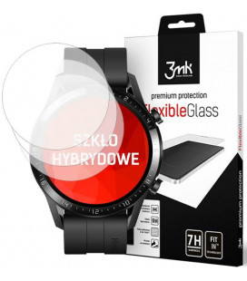 "Ekrano apsauga Huawei Watch GT2 46mm laikrodžiui ""3MK Flexible Glass"""