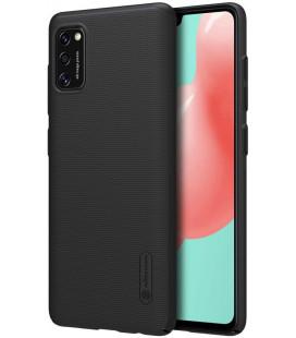 "Juodas dėklas Samsung Galaxy A41 telefonui ""Nillkin Frosted Shield"""
