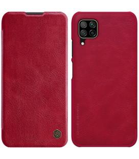 """Odinis raudonas atverčiamas dėklas Huawei P40 Lite telefonui """"Nillkin Qin"""""""