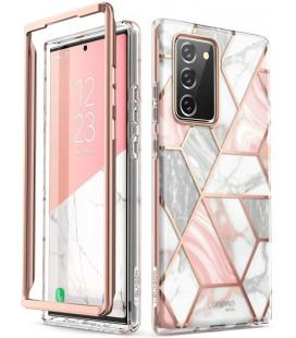 """Dėklas su marmuro efektu Samsung Galaxy Note 20 telefonui """"Supcase Cosmo"""""""