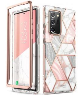 """Dėklas su marmuro efektu Samsung Galaxy Note 20 Ultra telefonui """"Supcase Cosmo"""""""