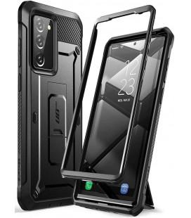"""Juodas dėklas Samsung Galaxy Note 20 telefonui """"Supcase Unicorn Beetle Pro"""""""