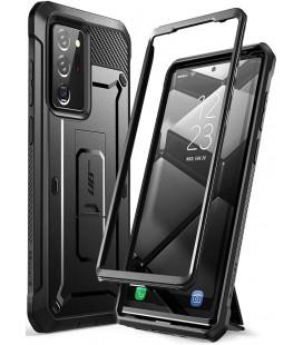 """Juodas dėklas Samsung Galaxy Note 20 Ultra telefonui """"Supcase Unicorn Beetle Pro"""""""